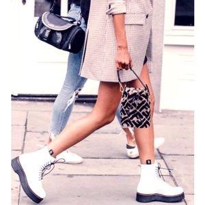 NWT Zara Flat Leather Ankle Boots W/ Fine Lug Sole